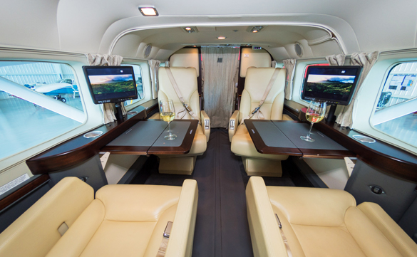 Luxury Private Air Travel from Royal Pacific Air Charter, Honolulu