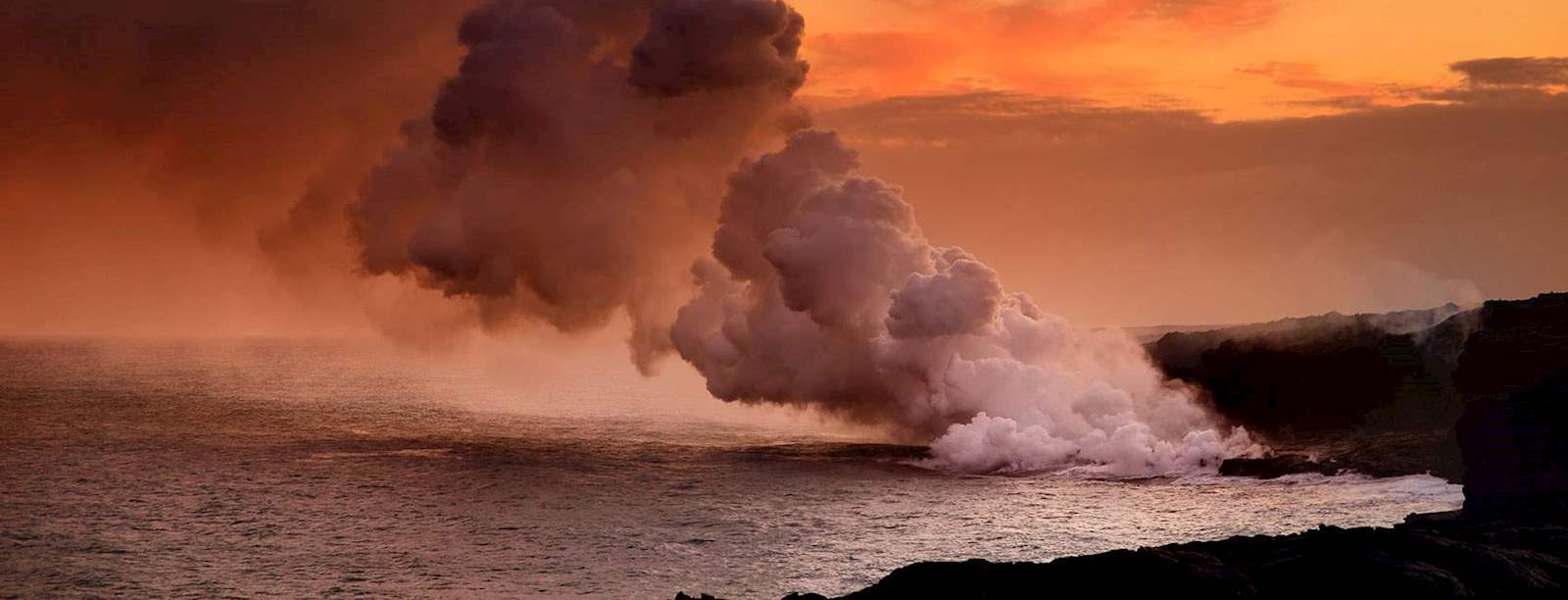 Volcano Tours - Royal Pacific Air Charter
